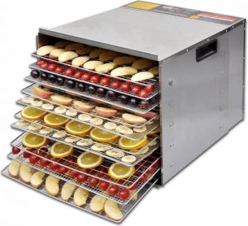 VidaXL Voedseldroger met 10 stapelbare lades